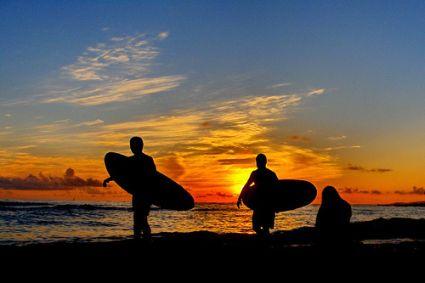 sunset sunabe surf